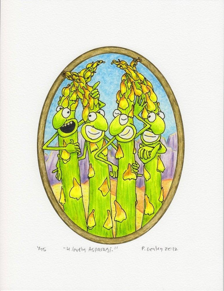 "Image of ""4 Lovely Asparagi"""