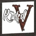 Image of Rated V Logo Sticker