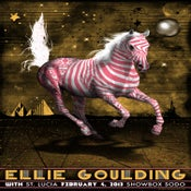 Image of Ellie Goulding. Showbox Sodo.