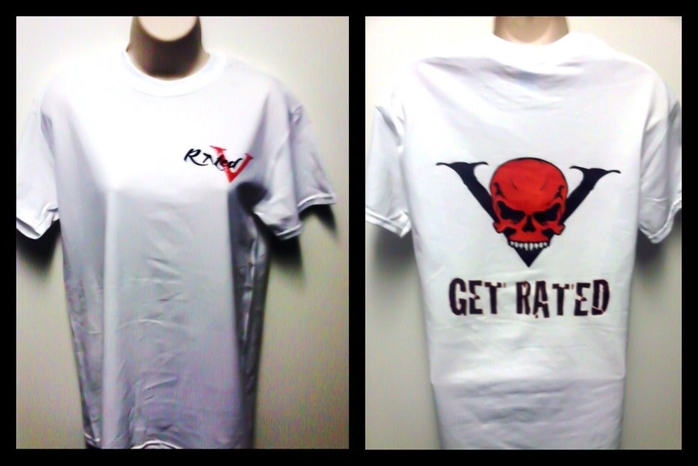 "Image of Rated V ""Get Rated"" unisex t shirt"
