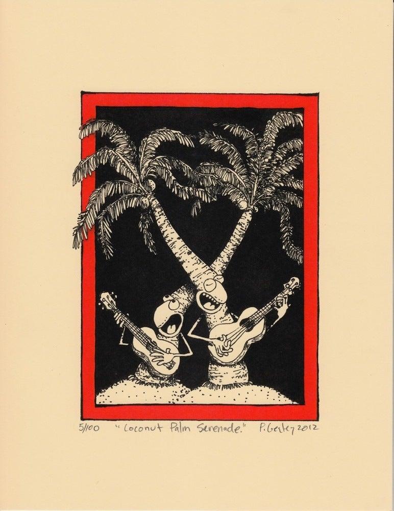 """Image of """"Coconut Palm Serenade"""""""