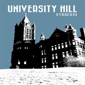 Image of university hill neighborhood print