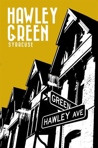 Image of hawley green neighborhood print