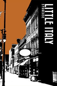 Image of little italy neighborhood print