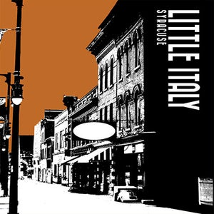 Image of little italy neighborhood print