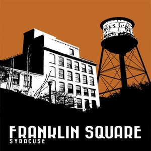 Image of franklin square neighborhood print