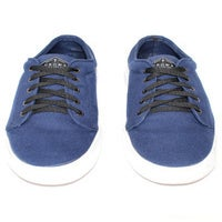 Image of The Moibster - Casual Canvas Shoe - Navy Blue - FREE SHIPPING AUS WIDE