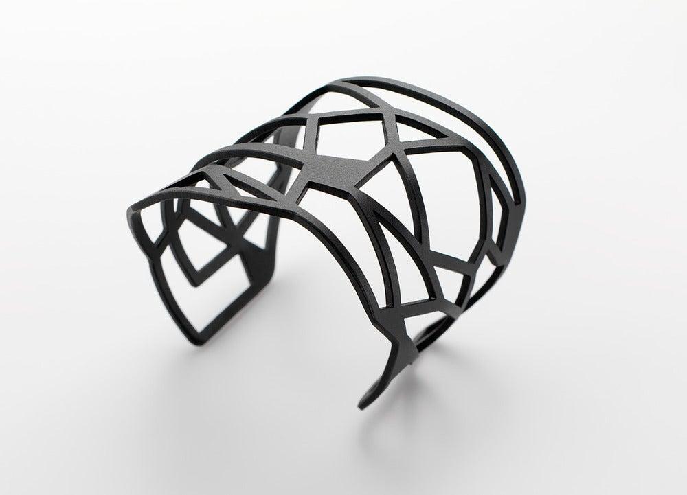 Image of Geometric Cuff Bracelet