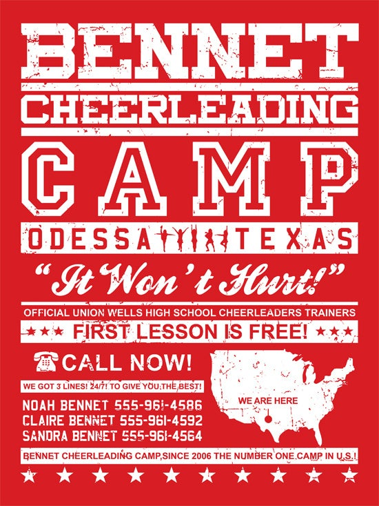 Image of Bennet Cheerleading camp {f}