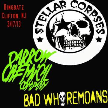 Image of Stellar Corpses/Darrow Chemical Company/Bad Whoremoans