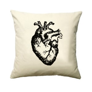 Image of Anatomical Heart Cushion PDF Pattern