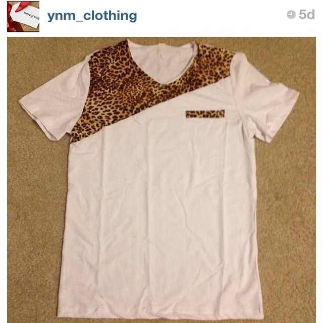 Image of YNM Cheetah T-shirt (unisex)