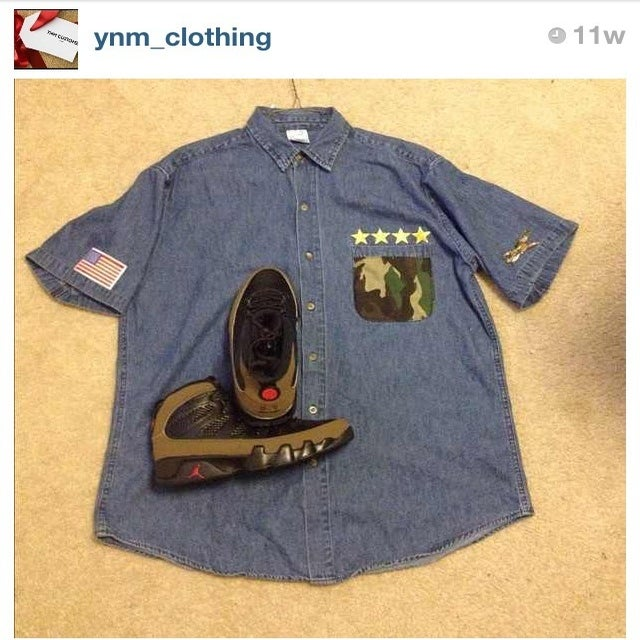 Image of YNM Jean Shirt