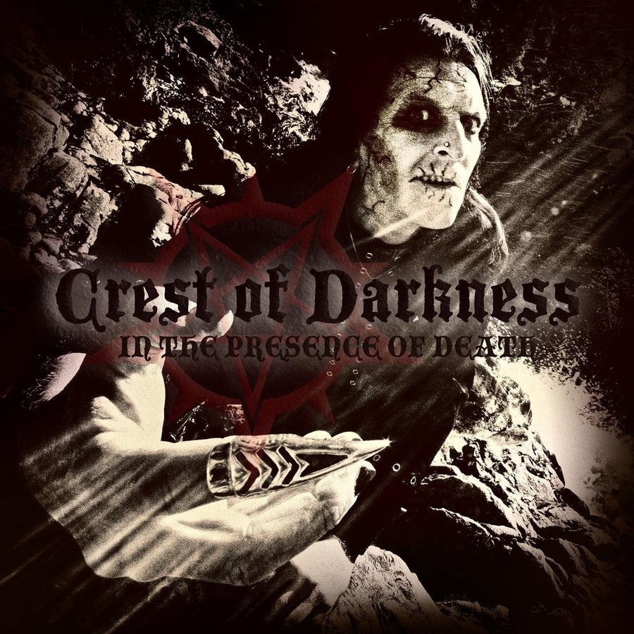 "Image of CREST OF DARKNESS ""In The Presence Of Death"" CD / LP"