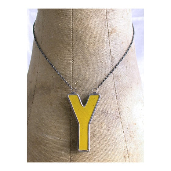 Image of Y necklace