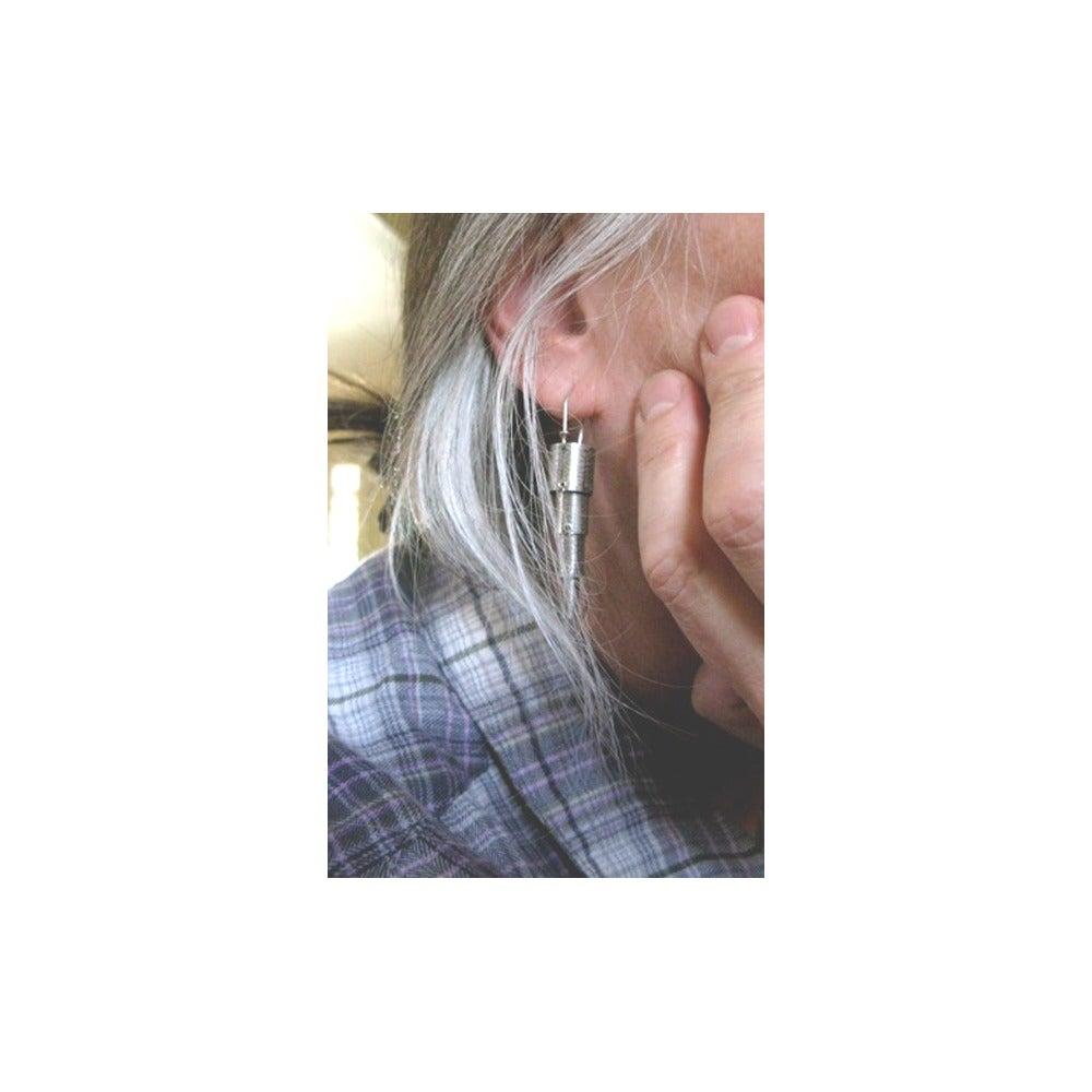 Image of wiggly earrings