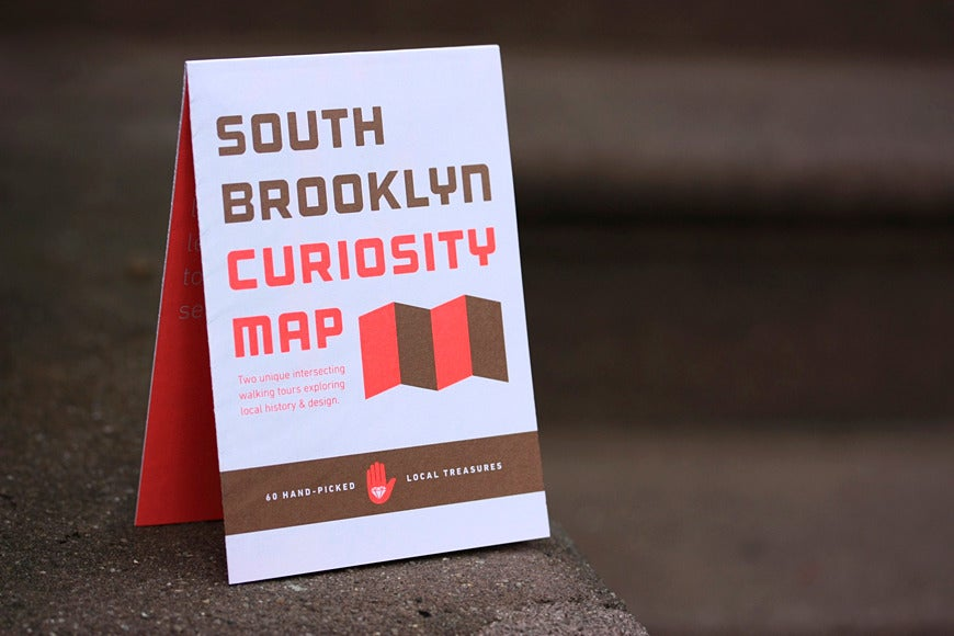 Image of South Brooklyn Curiosity Map