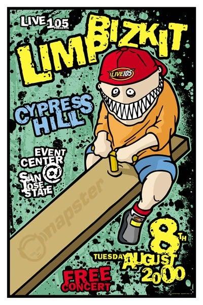 Image of Limp Bizkit Poster 2000