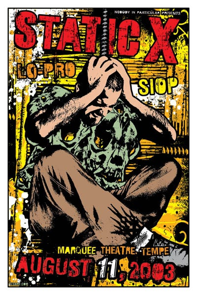Image of Static X Poster 2003