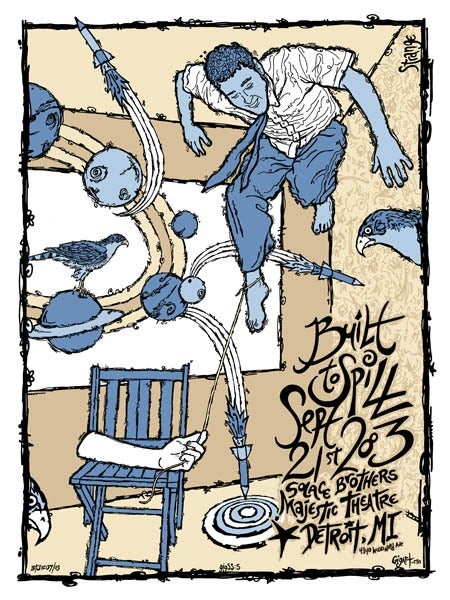 Image of Built To Spill Poster 2003