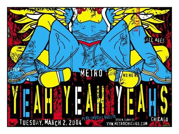 Image of Yeah Yeah Yeahs Poster 2004