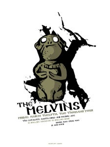 Image of Melvins 2004 X Poster