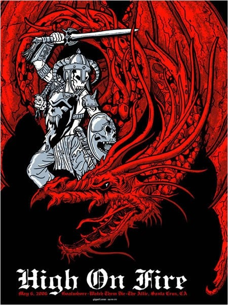Image of High On Fire Poster 2006