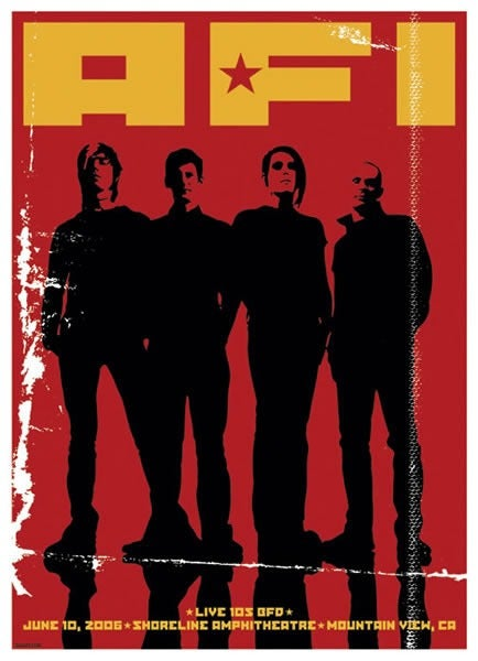Image of AFI Poster 2006