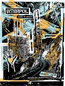 Image of Interpol Poster 2007