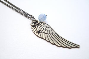 Image of Angel Delight Charm Necklace