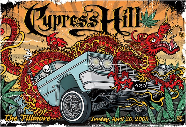 Image of Cypress Hill Low Rider Poster 2008