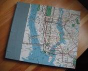 Image of Hand-bound Manhattan Map Sketchbook
