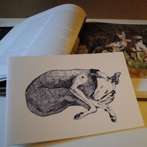Image of Doggy Notebook - Lurcher