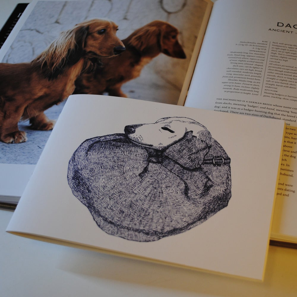 Image of Doggy Notebook - Dachshund, Sausage Dog