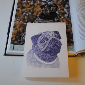 Image of Doggy Notebook - Pug