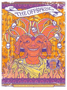 Image of The Offspring BFD Poster 2009