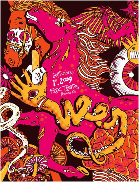 Image of Ween SoCal Stallion Poster 2009