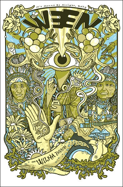 Image of Ween Wilma Poster 2010