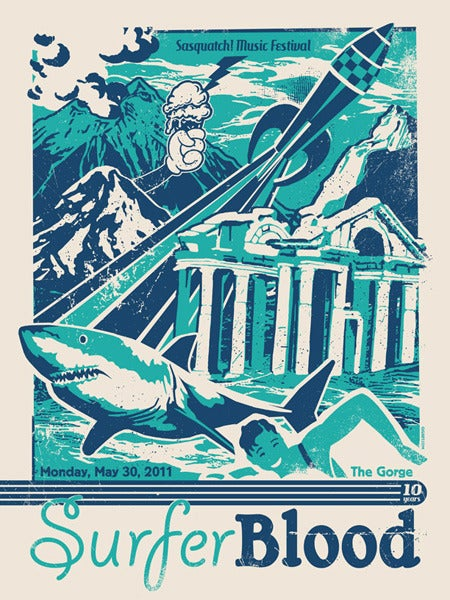 Image of Surfer Blood Poster 2011