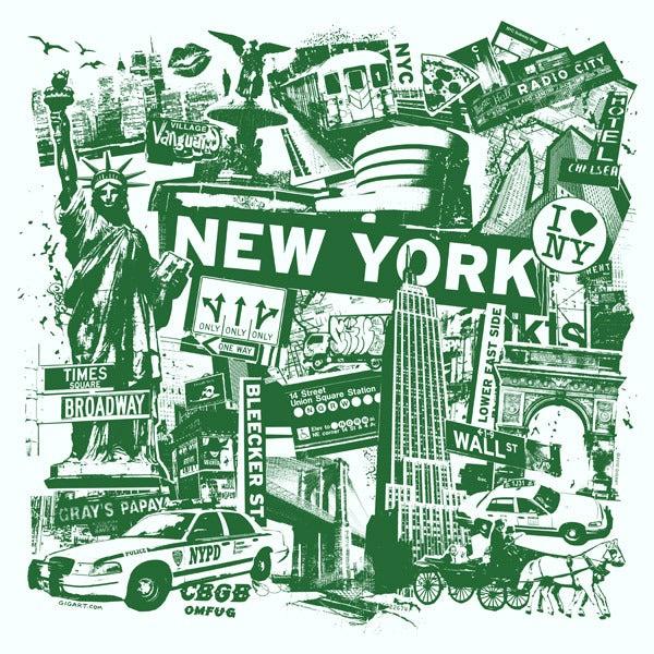 Image of New York City Print