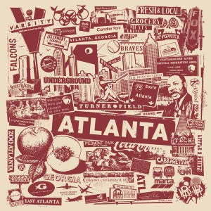 Image of Atlanta City Print