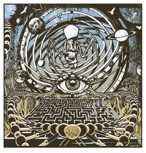 Image of Eye Of The Labyrinth Art Print