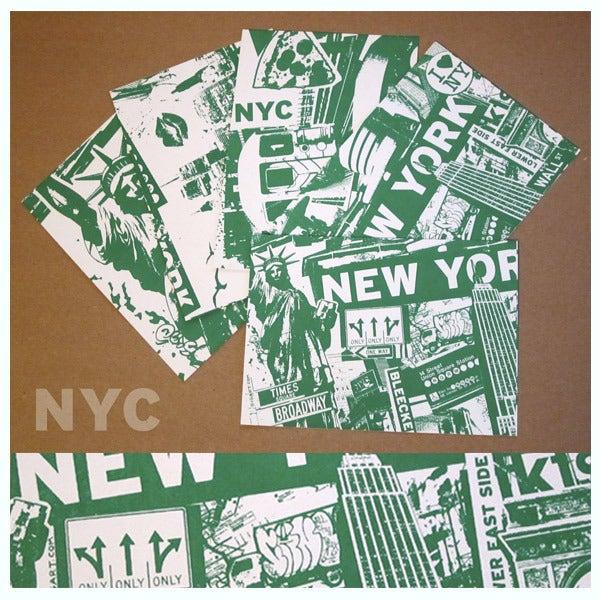 Image of 5 Pack New York City Postcard Set