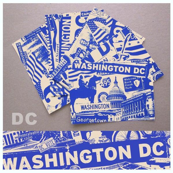 Image of 5 Pack Washington DC City Postcard Set
