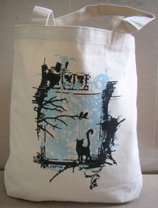 Image of Blue Cat Bag