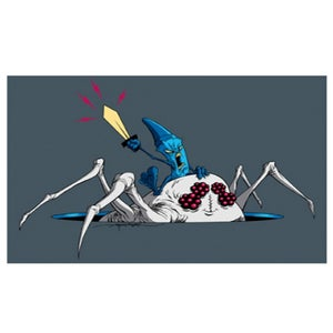 Image of Rayola™ by Alex Pardee Signed Giclee Print