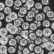 Image of White Aeronotiqz &Co. Clothing Buttons