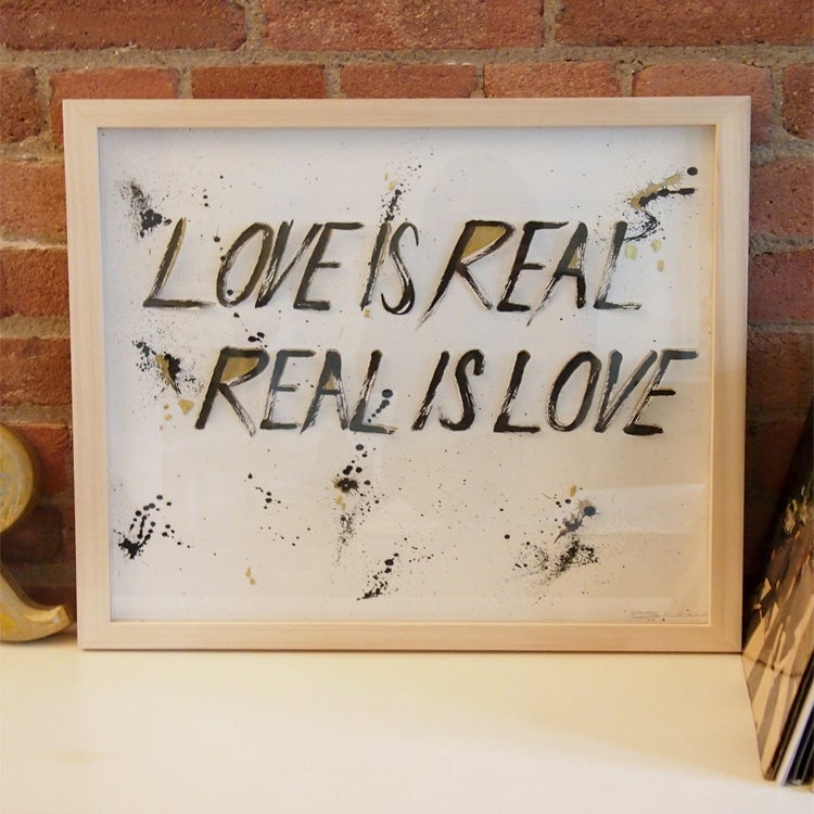 Image of Love is real, Real is love