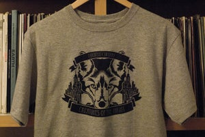 Image of 'Creatures of the Night' Tee (Grey)