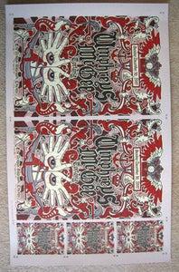 Image of Umphrey's McGee Uncut Poster Sheet